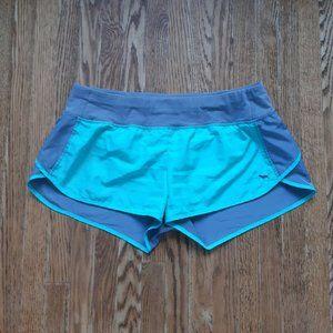 Pink mint green gym shorts